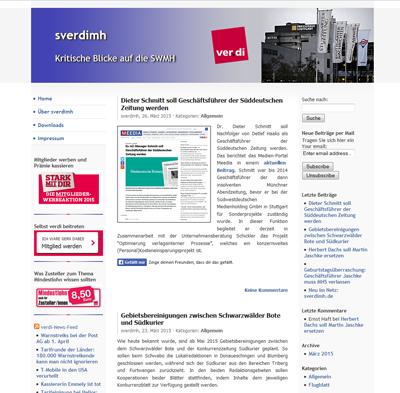 Homepage sverdimh.de